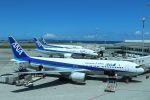 yousei-pixyさんが、那覇空港で撮影した全日空 767-381/ERの航空フォト(飛行機 写真・画像)