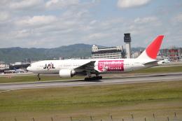 職業旅人さんが、伊丹空港で撮影した日本航空 777-246の航空フォト(飛行機 写真・画像)