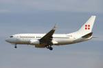 りんたろうさんが、フランクフルト国際空港で撮影したプライベートエア 737-7CN BBJの航空フォト(飛行機 写真・画像)