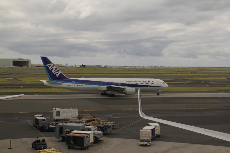 職業旅人さんの全日空 Boeing 767-300 (JA616A) 航空フォト
