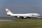 Gambardierさんが、福岡空港で撮影した日本航空 747-446Dの航空フォト(写真)