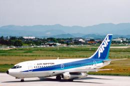 菊池 正人さんが、米子空港で撮影したエアーニッポン 737-281/Advの航空フォト(飛行機 写真・画像)