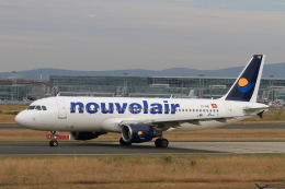 non-nonさんが、フランクフルト国際空港で撮影したヌーべルエア・チュニジア A320-214の航空フォト(飛行機 写真・画像)