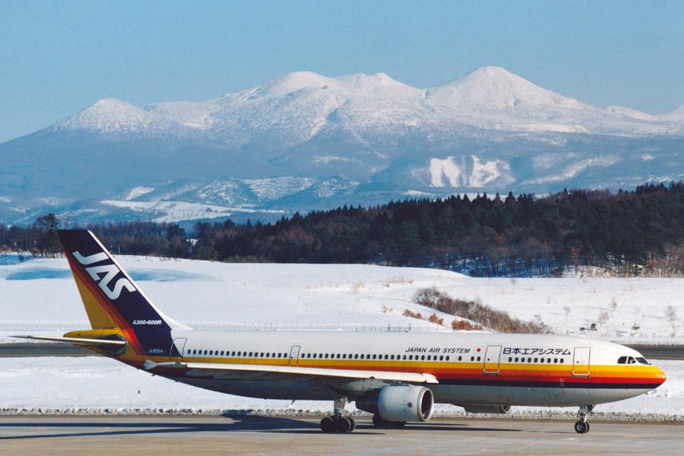 菊池 正人さんの日本エアシステム Airbus A300-600 (JA8564) 航空フォト
