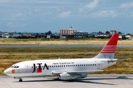菊池 正人さんが、宮古空港で撮影した日本トランスオーシャン航空 737-2Q3/Advの航空フォト(飛行機 写真・画像)