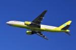 T.Sazenさんが、関西国際空港で撮影したジンエアー 777-2B5/ERの航空フォト(写真)