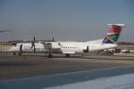 職業旅人さんが、O・R・タンボ国際空港で撮影したサウス・アフリカン・エクスプレス DHC-8-402Q Dash 8の航空フォト(写真)