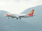 スカイマンタさんが、香港国際空港で撮影した香港エクスプレス A320-214の航空フォト(写真)