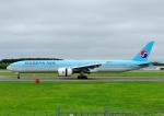 じーく。さんが、新千歳空港で撮影した大韓航空 777-3B5/ERの航空フォト(飛行機 写真・画像)