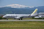kumagorouさんが、山形空港で撮影したフジドリームエアラインズ ERJ-170-200 (ERJ-175STD)の航空フォト(飛行機 写真・画像)