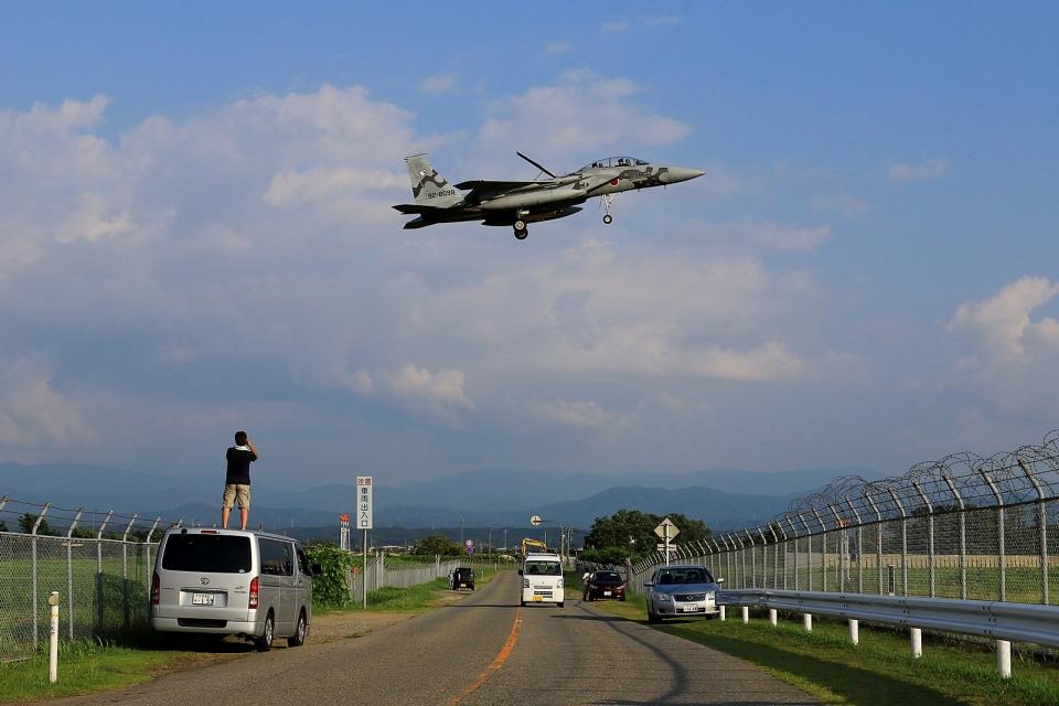RUNDY!さんの航空自衛隊 Mitsubishi F-15DJ Eagle (92-8098) 航空フォト