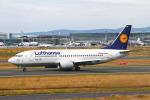 りんたろうさんが、フランクフルト国際空港で撮影したルフトハンザドイツ航空 737-330の航空フォト(写真)