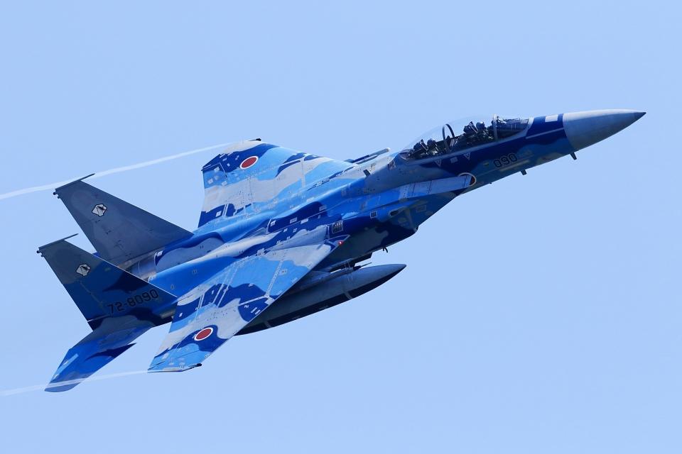 RUNDY!さんの航空自衛隊 Mitsubishi F-15DJ Eagle (72-8090) 航空フォト
