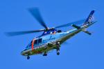 パンダさんが、館山航空基地で撮影した神奈川県警察 AW109SPの航空フォト(写真)