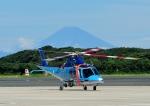 じーく。さんが、館山航空基地で撮影した神奈川県警察 AW109SPの航空フォト(飛行機 写真・画像)