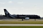 Sky-Hiro747さんが、クライストチャーチ国際空港で撮影したニュージーランド航空 A320-232の航空フォト(飛行機 写真・画像)