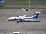 セブンさんが、羽田空港で撮影したANAウイングス DHC-8-314Q Dash 8の航空フォト(飛行機 写真・画像)