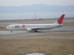 セブンさんが、関西国際空港で撮影した日本航空 767-346/ERの航空フォト(飛行機 写真・画像)