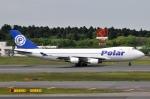 panchiさんが、成田国際空港で撮影したポーラーエアカーゴ 747-46NF/SCDの航空フォト(飛行機 写真・画像)