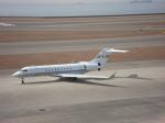セブンさんが、中部国際空港で撮影した国土交通省 航空局 BD-700-1A10 Global Expressの航空フォト(飛行機 写真・画像)