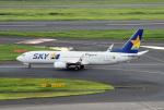 tsubasa0624さんが、羽田空港で撮影したスカイマーク 737-81Dの航空フォト(飛行機 写真・画像)