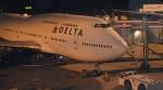 寛太さんが、成田国際空港で撮影したデルタ航空 747-451の航空フォト(写真)