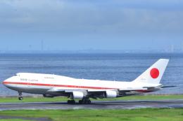 どっかの人さんが、羽田空港で撮影した航空自衛隊 747-47Cの航空フォト(飛行機 写真・画像)