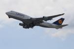 セブンさんが、関西国際空港で撮影したルフトハンザドイツ航空 747-430の航空フォト(飛行機 写真・画像)