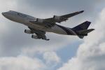 セブンさんが、関西国際空港で撮影したタイ国際航空 747-4D7の航空フォト(飛行機 写真・画像)