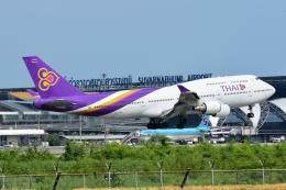 RUSSIANSKIさんが、スワンナプーム国際空港で撮影したタイ国際航空 747-4D7の航空フォト(写真)