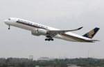 voyagerさんが、デュッセルドルフ国際空港で撮影したシンガポール航空 A350-941XWBの航空フォト(飛行機 写真・画像)