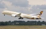 voyagerさんが、デュッセルドルフ国際空港で撮影したエティハド航空 787-9の航空フォト(写真)