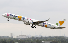 voyagerさんが、デュッセルドルフ国際空港で撮影したコンドル 757-330の航空フォト(飛行機 写真・画像)