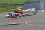セブンさんが、札幌飛行場で撮影した北海道防災航空隊 412EPの航空フォト(写真)