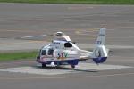 セブンさんが、札幌飛行場で撮影した北海道航空 AS365N2 Dauphin 2の航空フォト(飛行機 写真・画像)
