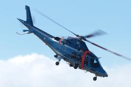 木人さんが、館山航空基地で撮影した神奈川県警察 AW109SPの航空フォト(飛行機 写真・画像)