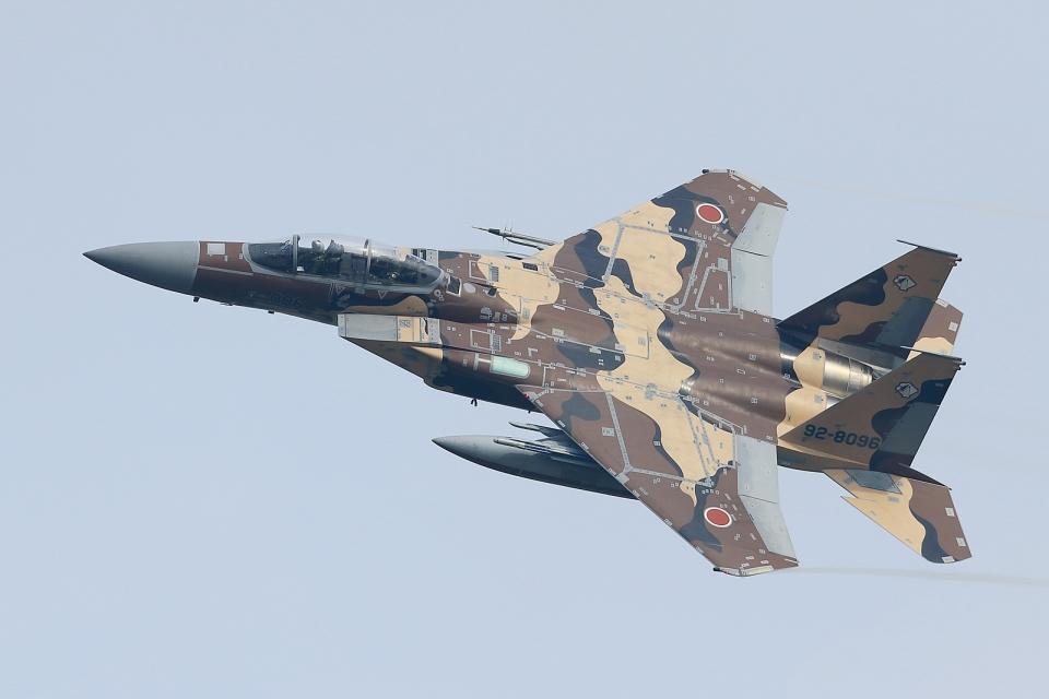 RUNDY!さんの航空自衛隊 Mitsubishi F-15DJ Eagle (92-8096) 航空フォト