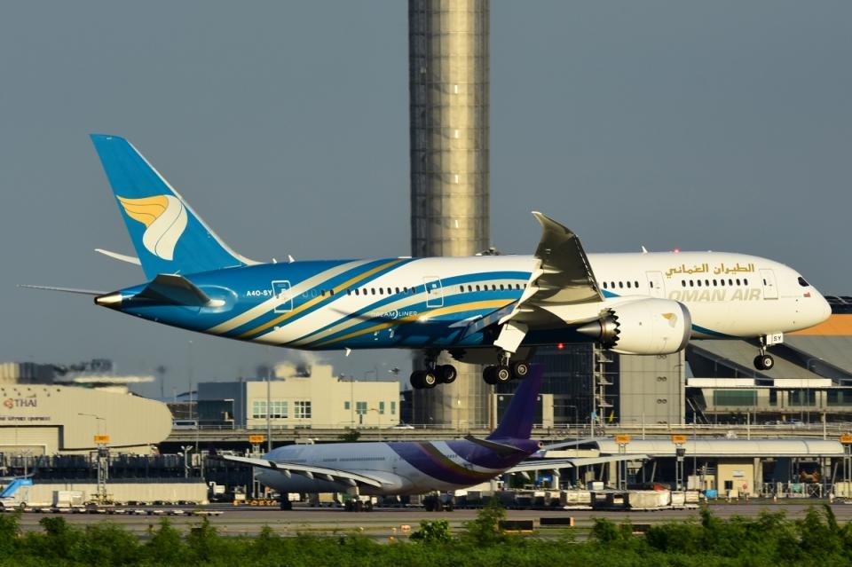 RUSSIANSKIさんのオマーン航空 Boeing 787-8 Dreamliner (A4O-SY) 航空フォト