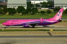 RUSSIANSKIさんが、ドンムアン空港で撮影したサイアム・エア 737-86Jの航空フォト(写真)