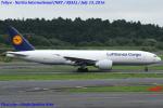 Chofu Spotter Ariaさんが、成田国際空港で撮影したルフトハンザ・カーゴ 777-FBTの航空フォト(飛行機 写真・画像)