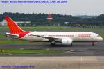 Chofu Spotter Ariaさんが、成田国際空港で撮影したエア・インディア 787-8 Dreamlinerの航空フォト(写真)