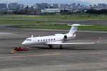 T.Sazenさんが、名古屋飛行場で撮影したTOYOTA MOTORS G-V-SP Gulfstream G550の航空フォト(写真)