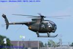 Chofu Spotter Ariaさんが、札幌飛行場で撮影した陸上自衛隊 OH-6Dの航空フォト(写真)