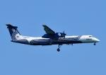 じーく。さんが、新千歳空港で撮影したオーロラ DHC-8-402Q Dash 8の航空フォト(写真)
