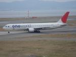 セブンさんが、関西国際空港で撮影した日本航空 767-346の航空フォト(飛行機 写真・画像)