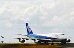 菊池 正人さんが、パリ シャルル・ド・ゴール国際空港で撮影した全日空 747-481の航空フォト(飛行機 写真・画像)