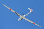 りんたろうさんが、ジンスハイム滑空場で撮影したドイツ個人所有 DG-400の航空フォト(写真)