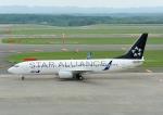 じーく。さんが、新千歳空港で撮影した全日空 737-881の航空フォト(飛行機 写真・画像)