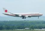 じーく。さんが、新千歳空港で撮影した航空自衛隊 747-47Cの航空フォト(飛行機 写真・画像)