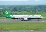 じーく。さんが、新千歳空港で撮影したエバー航空 A321-211の航空フォト(飛行機 写真・画像)